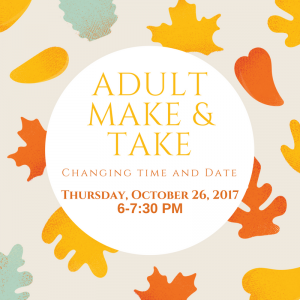 Adult Make & Take @ Carlisle Public Library | Carlisle | Iowa | United States