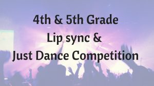 4th & 5th Gr Lip sync & Just Dance Competition @ Carlisle Public Library | Carlisle | Iowa | United States