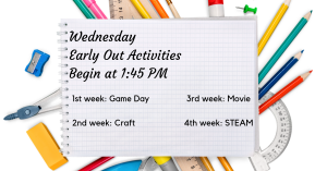 Early Out Activities @ Carlisle Public Library | Carlisle | Iowa | United States