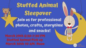 Stuffed Animal Sleepover @ Carlisle Public Library
