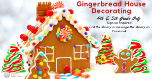 Gingerbread House Decorating @ Carlisle Public Library