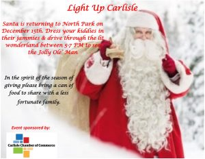 Light UP Carlisle at North Park @ Carlisle North Park